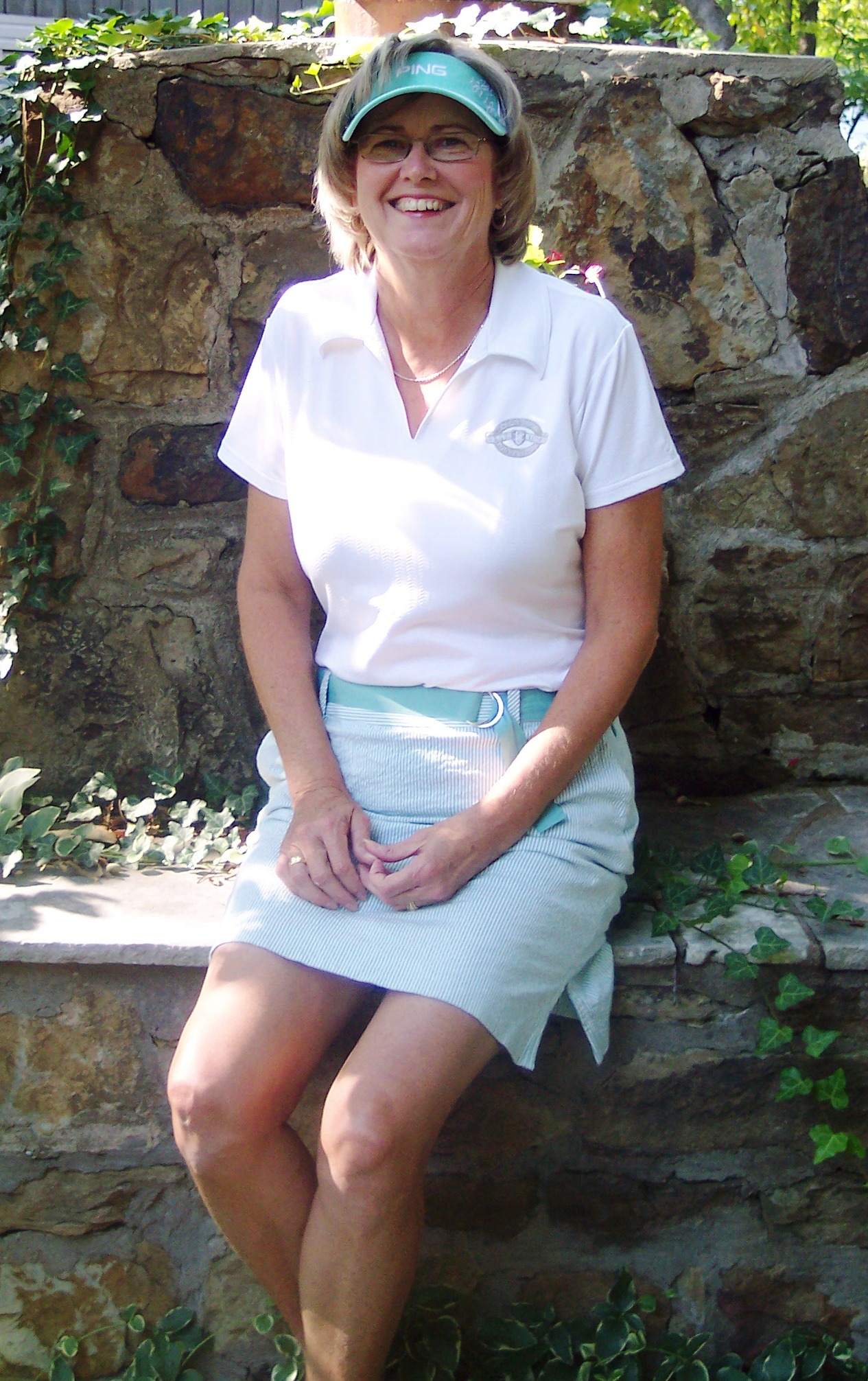 2009 Club Champion, Peggy Hinde