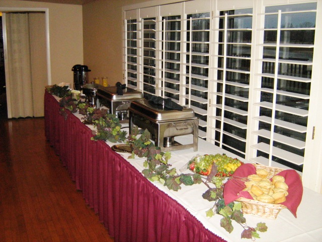 Dining service or buffet is your choice!
