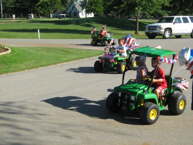 July 4th Kids Parade