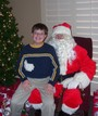 Kevin McNay with Santa